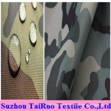 100% Polyester Oxford with Camouflage Printed for Military Uniform Fabric