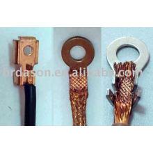 Machine ultrasonique de soudure en métal pour des connecteurs