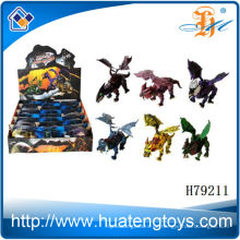 2013 Die beliebtesten Plastikwelt animierten Dinosaurier König für Kinder zum Verkauf