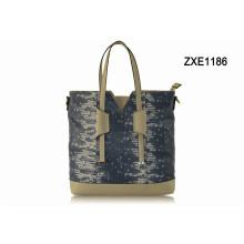 Fashion Custom Wholesale Lady Hand Bag Snake PU Elegance Designer Women Handbag Zxe1186