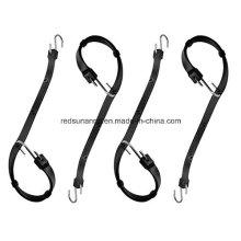 Custom Flexible Adjustable Rubber Tie Down Strap