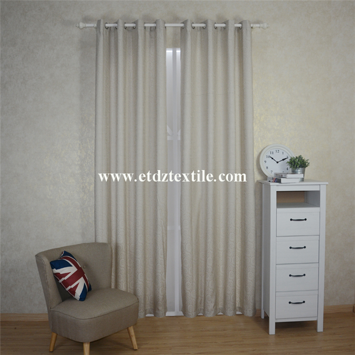 Hot Popular Jacquard Curtain Fabric WZQ200