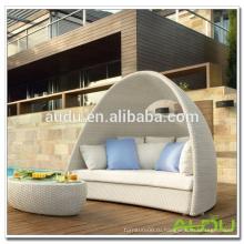 Audu Белый Ротанг Открытый Открытый Спальный диван