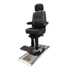 ferry ship rubber chair boat master chair helmsman chair with rotating 360 degrees