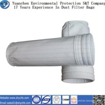 Bolsa de filtro de polvo de poliéster para la planta de energía de carbón con muestra gratis