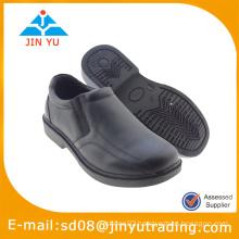 2015 school black slip-on shoe for kids