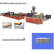 PVC деревянная пластичная (пена) профиль Экструзионная линия (SJSZ65/132)