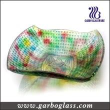 Plaque de verre décorative multicolore moderne (GB1608MG / TS)