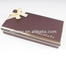 Embalaje de chocolate de impresión offset