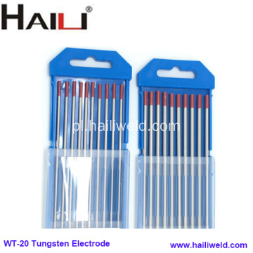Thoriated Tungsten Electrode 2% Thoriated wolfram WT20