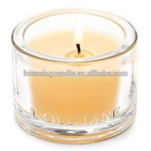 Рождественский подарок ароматизированные стеклянные свечи производитель