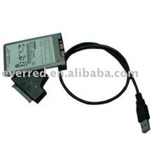 USB al cable micro del convertidor de SATA