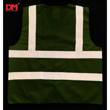 EN20471 Class 2 High Visibility Waistcoat Two Stripes