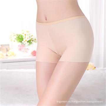 Новый стиль анти-воздействию трусы нейлон нижнее белье бесшовные высокой талией среднего качества женщин трусы сексуальный леггинсы