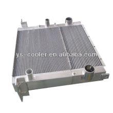 Lieferant von kundenspezifischen und Hochleistungs-Aluminium-Baufahrzeug-Fin-Typ-Ladeluftkühler