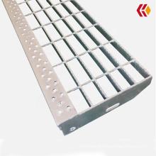 Outdoor safety non-slip galvanized steel stair tread