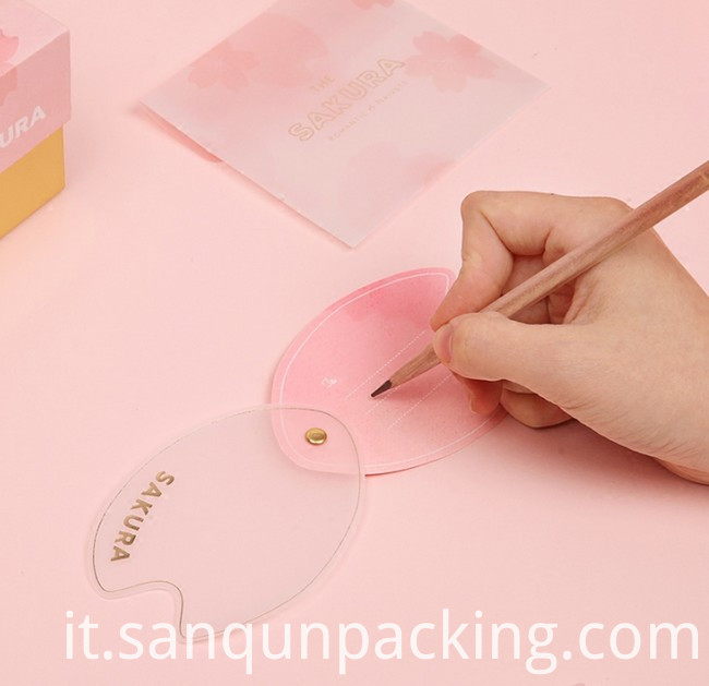 Small Pink Greeting Card