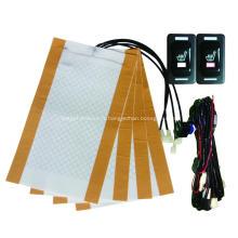 Interrupteur à bascule rectangulaire Hi-Off-Low pour chauffage de siège d'auto