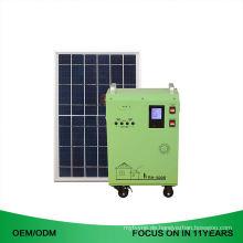 Komplette Mobile 1Kw Set Off Grid 2KW Startseite Solar Power System