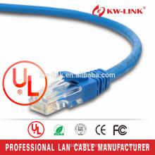 High Quality RJ45 Bare Copper Cat5e Patch cable, FTP RJ45 Patch Cable