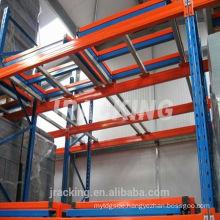 Holz Regalsystem Warehouse Push Back Pallet Rack System