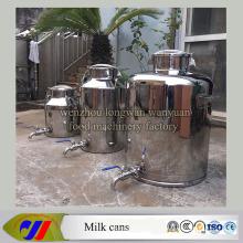 Молоко для молока из нержавеющей стали 100 литров Ведро для молока с напорным клапаном