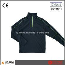 1/4 do zipper Mens exteriores casaco jaqueta de lã leve suor barato