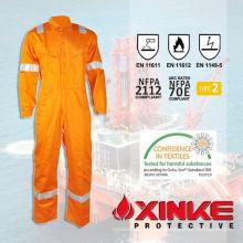 traje de proximidad al fuego para los trabajadores