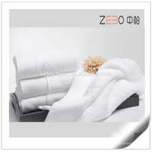 Wholesale Sateen Plain Woven Style with Embroidery Cotton Hotel Bath Towel