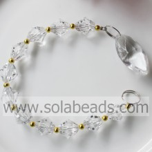 Winter 255MM Length Crystal Beaded Pendant