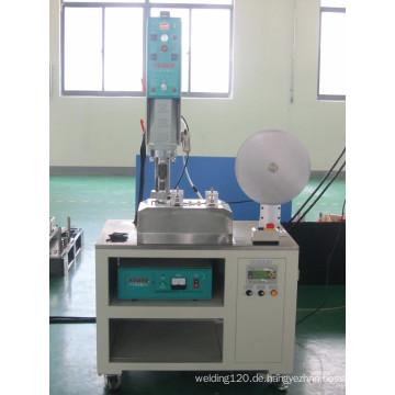 Automatische Ultraschall-Stoff Schneidemaschine, automatische Ultraschall-Textil-Schneidemaschine
