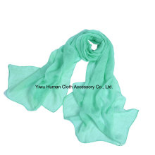 Women′s Wrinkle Solid Color Soft Lightweight Scarf