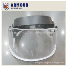 NIJ IIIA ballistic mask / helmet visor