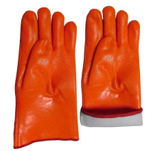 Gant de travail de sécurité ferroviaire en aluminium trempé à gant de gant jaune Hi-Viz