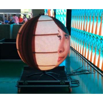 Nouvelle innovation P5 Sphere Led Screen Screen Display