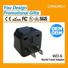 Многофункциональная розетка для подключения розетки USB, 10a 3-х гнездовая розетка одобрена
