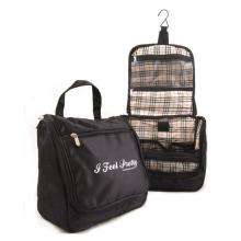 Tri-Fold Hanging Travel Toiletry Cosmetics Travel Bag Kit Luggage Essentials Travel Organizer