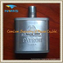 Custom Design Parton Hip Flask 5oz