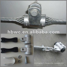 Kit de suspension ADSS, serre-câble haute tension