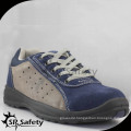 light sports suede leather safety shoes