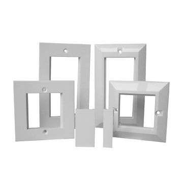 86 Typ Faceplate Rahmen von St-Fp-P1 mit Top Qualität
