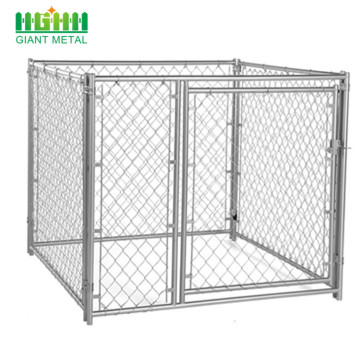 Galvanized Outdoor Link Kennel Kennel Dog Houses