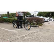bicicleta elétrica dobrável ebike alimentável e-scooter
