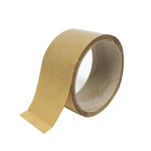 Factory Wholesale Self adhesive reinforced  kraft Paper Tape for carton packaging