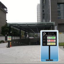 Outdoor Double Color P10 and Three-Layer LED Car Guide Screen