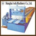 Máquina formadora de rolos de chapa de telhado de autotravamento de aço colorido (AF-R360)