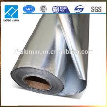 8011- O Aluminium Foil Price con abundancia de existencias