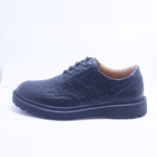Outlet Preto Lace-up sapatos casuais para homens