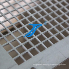 Stainless Steel Square Hole Perforated Metal