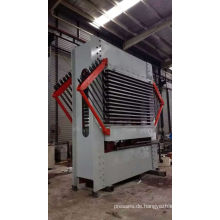 Heißpressmaschine zum Laminieren des Sperrholzes für den Bau